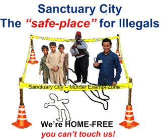 Illegal Privilege More Coming In - Map of us sanctuary cities